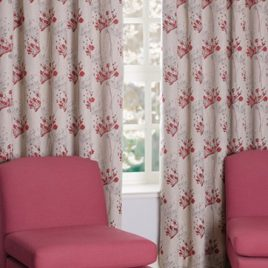 Impulse Scarlet Eyelet Curtain
