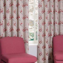 Impulse Scarlet Eyelet Curtain